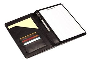 "Samsonite Deluxe Writing PadFolio Organizer with 8"" notepad"