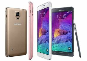 Samsung Galaxy Note 4 IV 32GB SM-N910A (4G FACTORY UNLOCKED) Black or White (MR)
