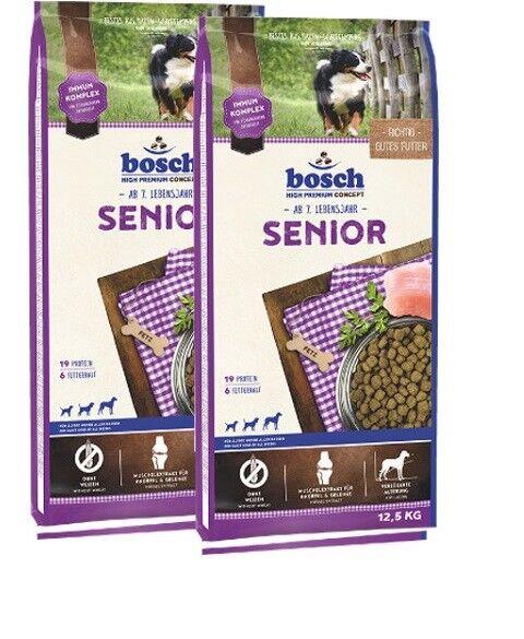 2x12,5kg Bosch Senior Hundefutter  *** TOP PREIS ***