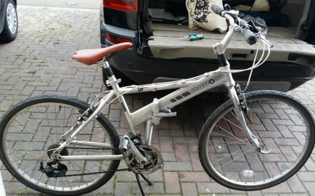 Dahon Espresso Folding Bike full size 14kg. | in Barking ...