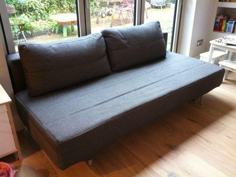 Magnificent Charcoal Sofa Bed Muji Review Catosfera Net Machost Co Dining Chair Design Ideas Machostcouk