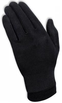 Held Unterzieh Handschuhe aus reiner Seide super Temperaturregulierung schwarz