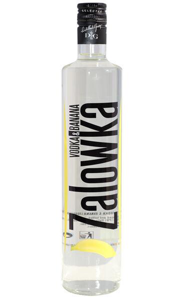 22,13€/l Zalowka Vodka & Banane Likör 0,7 l 21% Wodka mit Geschmack Bananenlikör