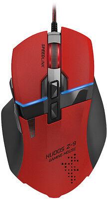 SPEEDLINK KUDOS Z-9 Gaming Mouse Maus Computer PC Gamer Zocker 8000 DPI