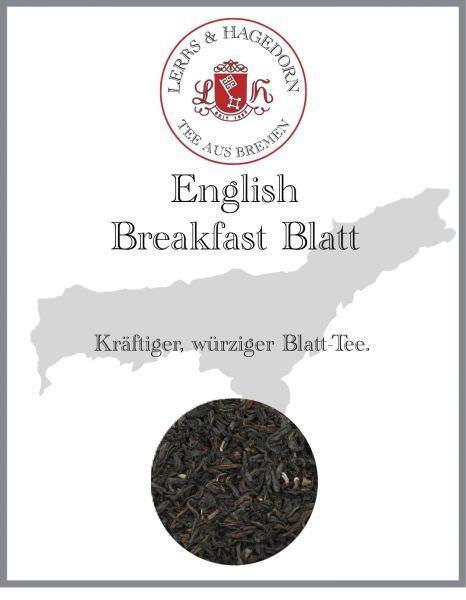 English Breakfast tea Blatt 1 kg