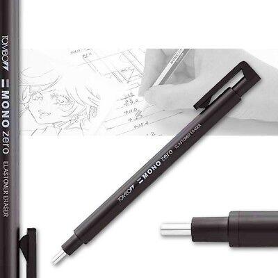 Radierstift mono zero rund schwarz Tombow Präzisionsradierer