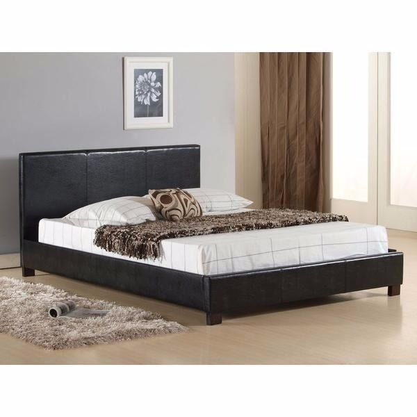 Offer Cash On Dellivery Double Leather Bed Frame Free Delivery With Mattress