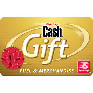 $100 Speedway Gas Gift Card For Only $92!! - FREE Mail Delivery
