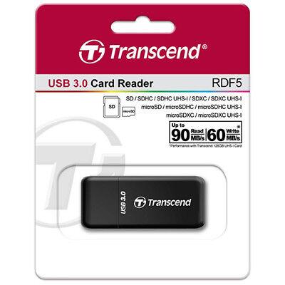 kQ Transcend TS-RDF5K Kartenleser USB 3.0 SD SDHC SDXC microSD microSDHC Retail