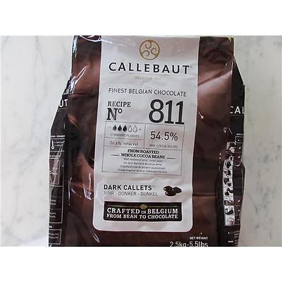 Zartbitterschokolade, Callets, 54% Kakao, 2,5 kg