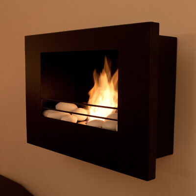 Real Flame Ignite - Gel Fuel Real Flame Flueless Fire, Modern, Wall Mounted