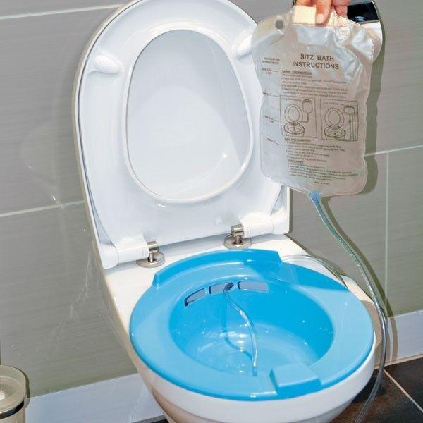 Bidet-Sitz Bidet Sitzbad Toilette Aufsatz Intimpflege