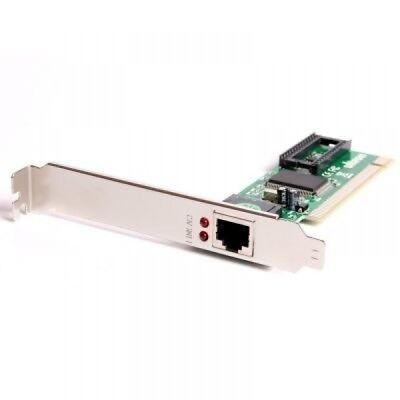 Ultron UNE100TX Netzwerkkarte PCI 10/100 Ethernet 100 Mbps IEEE 802.3u RJ45