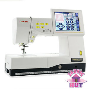 500600024- Janome 11000 Memory Craft Computerized Sewing Machine Embroidery USB