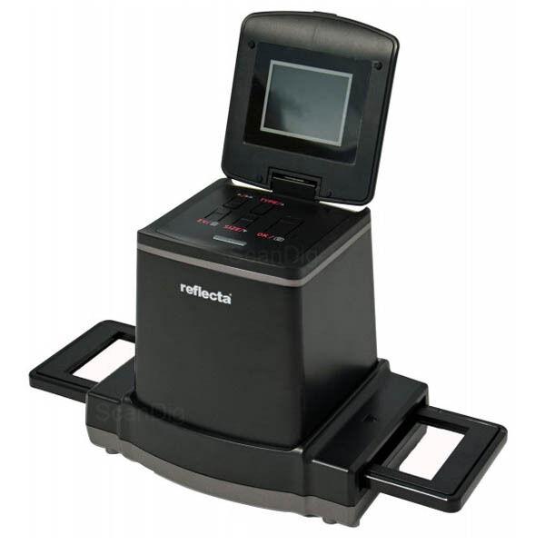 Reflecta x120 Scan - CMOS Mittelformatscanner -  MF auf SD-Karte speichern(6541)