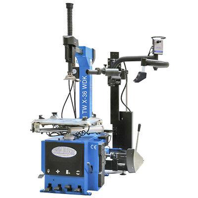 Twin Busch ® Profi Reifenmontagemaschine TW X-36 WDK mit WDK Zertifikat - NEU