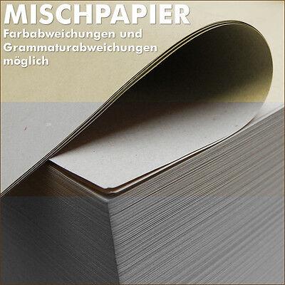 3 kg Mischpapier Schrenz 750 x 500 mm Knüllpapier Packpapier