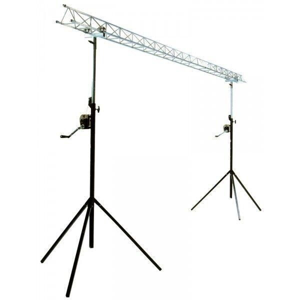 details about ibiza lightbridge winch truss gantry 4m disco dj lighting stand goalpost light