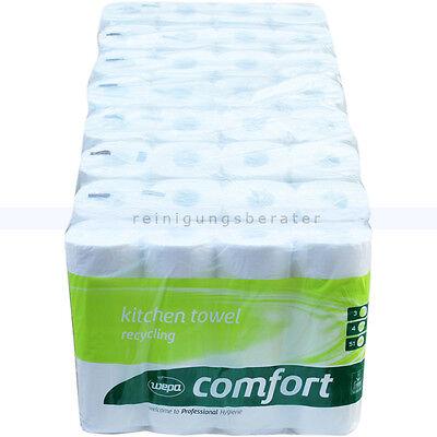 Küchenrollen Küchenpapier Wepa Comfort hochweiß 26x23 cm, 32 Rollen, 3-lagig