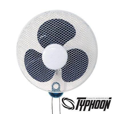 Wall Fan 40cm 35W Typhoon 3-Speed oszillierend Wandventilator Grow