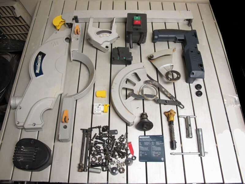 Table Saw Mitre Model 55 6894 6 Parts