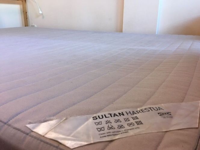 Ikea Sultan Harestua Double Spring Mattress