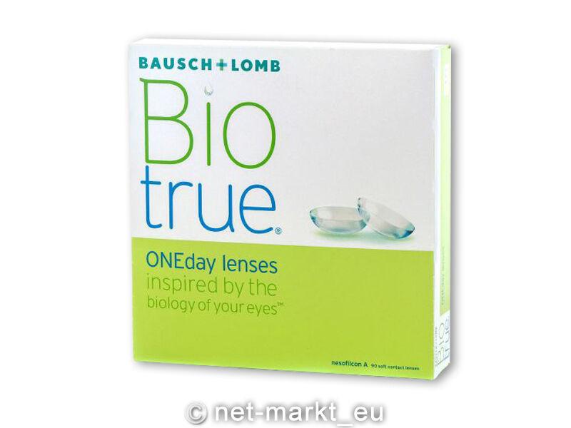 Biotrue ONEday - Bausch&Lomb - 1 x 90 Stück - Tageslinsen Neu&OVP Kontaktlinsen