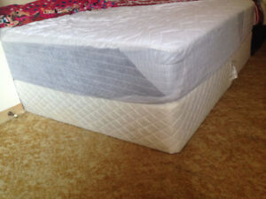 Mattresses Bed Frame And Central Table For