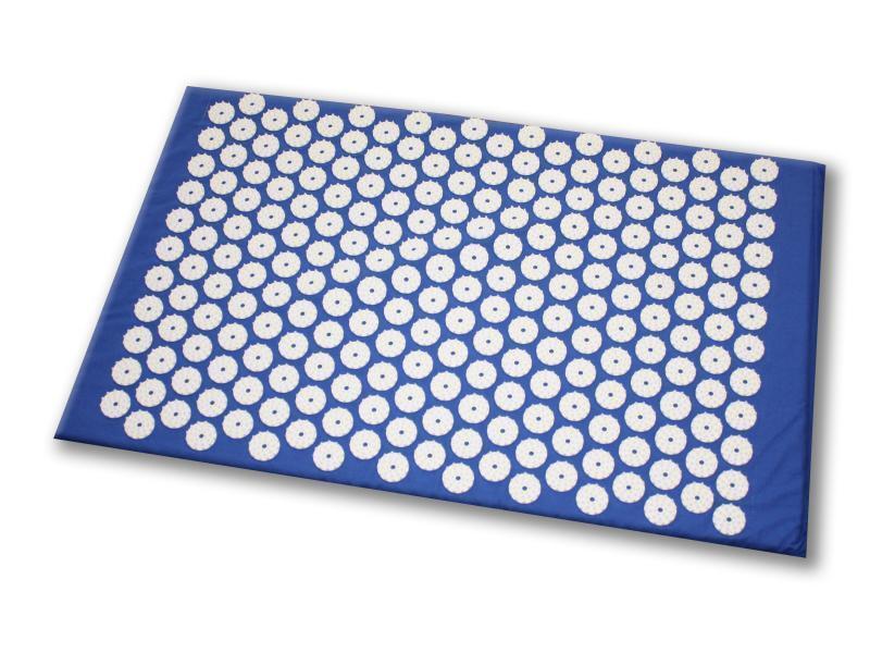 Shanti Akupressurmatte / Nagelmatte (65 x 41 cm, blau)