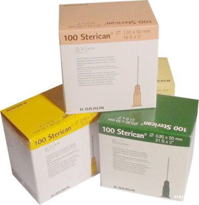 100 Injektionskanülen 50 mm lang Einmalkanülen Sterican Sonderkanülen