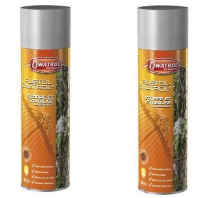 2x 300ml Owatrol Öl Kriechöl Rostschutz Holzschutz Spraydose