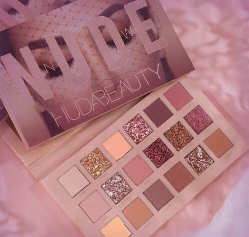 Hot HUDA Beauty Eyeshadow Desert Rose Lidschatten Palette Limited Edition 18