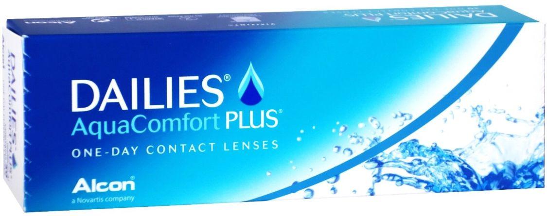 Dailies Aqua Comfort Plus - 30er Box - Tageslinsen - weiche Kontaktlinsen