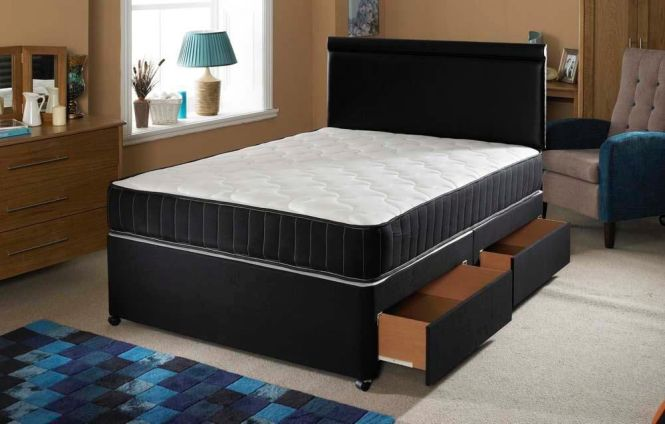 Brand New Luxury Memory Foam Sprung Orthopaedic Mattress Double Small All Over