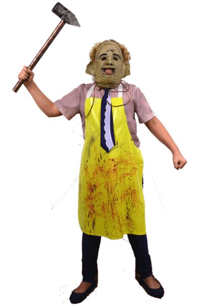 Trick Or Treat Texas Chainsaw Massacre Leatherface Child Halloween Costume