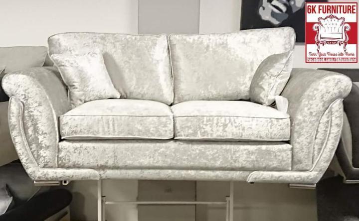 Fabric Crush Velvet Ghoshi Shann0n Sofa Luxury Cheapest 3 2 Corner 9