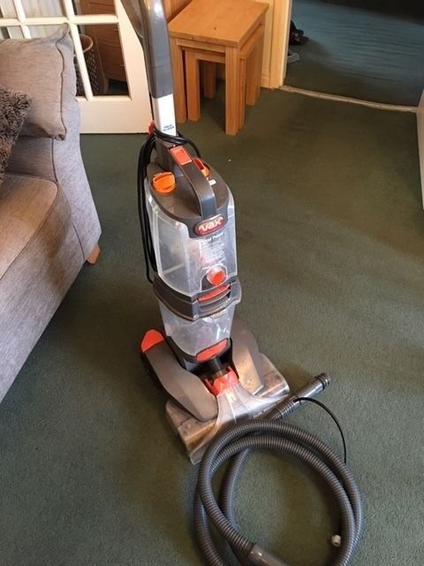 Vax W85 Pl T Dual Power Pro Advance Carpet Washer Carpet