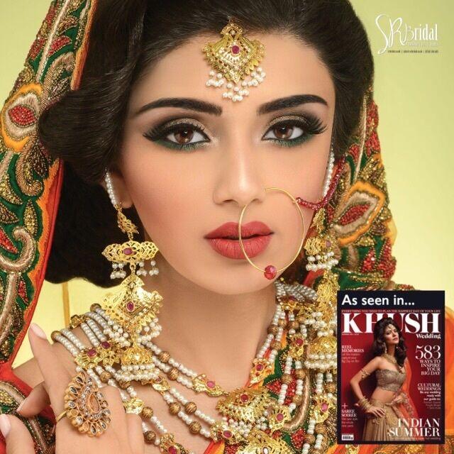 Bridal Mehndi Leicester : Makeup artist leicester indian saubhaya