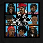 DAVE CHAPPELLE * THE CHAPPELLE BUNCH QUALITY SHIRT *OLDSKOOL*FULL FRONT**