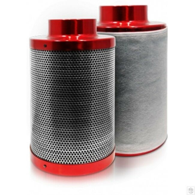 5 Inch Carbon Filter RED SCORPION PRO - Hydroponic Odour Control (Copy)