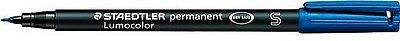 Folienschreiber STAEDTLER® Lumocolor Permanent in Blau S-Spitze Wasserfest