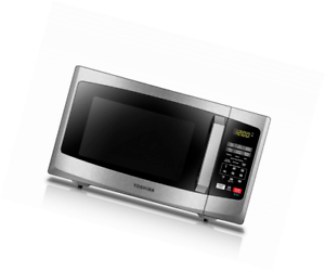 toshiba em925a5a ss 9 cu ft microwave oven stainless steel