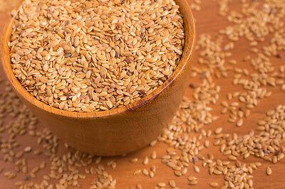 1000g Leinsamen Gold Leinsaat Gelb für Müsli zum Backen naturbelassen 1 kg