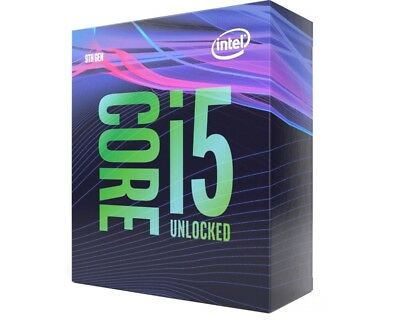Intel i5 9600K CPU BOX Prozessor, 6-Core, 3,7GHz, Coffee Lake LGA 1151