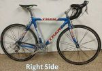 Trek USPS OCLV Carbon bicycle. Size 56. Lance Armstrong