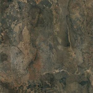 "Dark Slate Stone Marble Self Stick Vinyl Floor Tiles - 100 pcs 12"" x 12"""