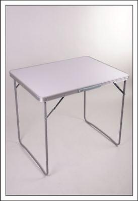 Alu Koffertisch 70x50x60 cm Campingtisch Tisch Gartentisch Klapptisch Falttisch