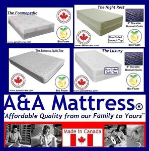 New Double Mattresses From 139 99 Full Boxspring 80 No Tax
