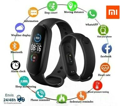 get the new Xiaomi Mi Band 5 for 30 euros from Spain in Aliexpress Plaza