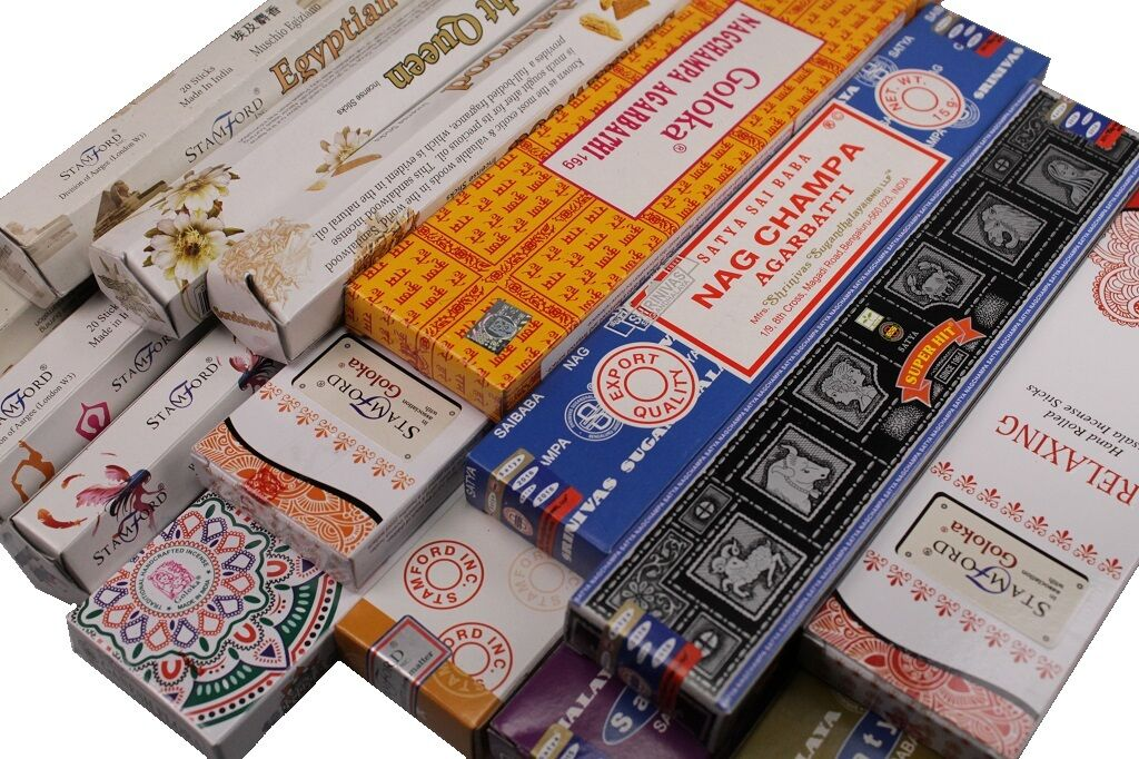 Räucherstäbchen große Duft Auswahl Stamford Qualitäts Duftstäbchen Indien